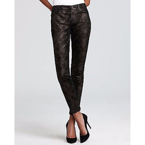 Autentico Jeans 7 For All Mankind Skinny Metalic Black!!!