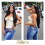 Calça Jeans Feminino Rhero Modelo Levanta Bumbum