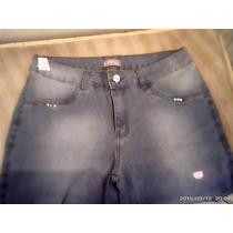 Calça Jeans Azul Claro Desbotado 48 Linda Da Coca Cola