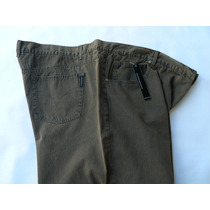 0287 - Calça Em Sarja Da Gucci Tam. 70 Grande - Plus Size