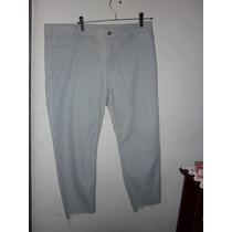 Calça Jeans Cinza Escura Cambos Palank Tam 52