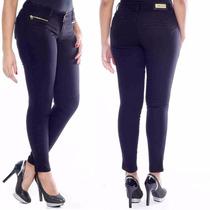 Sawary Calça Jeans Modela Bumbum Com Bojos E Elastano Pit
