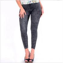 Calça Leeggins Feminina - Estilo Jeans - Pronta Entrega