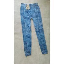 Calça Leeggins - Estilo Jeans - Pronta Entrega