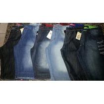 Kit Bermudas Jeans Atacado - Lote Com 3 Unidades