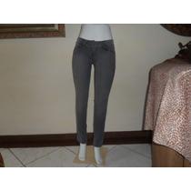 Calça Jeans Feminina Com Elastano Ecko Unltd Tam. 42 Usada