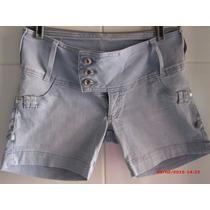 Shorts Jeans Claro Ri19 Tam 44