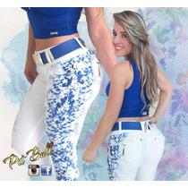 Calça Pit Bull Pitbull Jeans Levanta Bumbum Bojo Removivel!