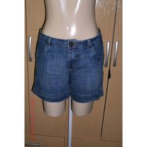 Lindo Shorts Jeans Com Elastano Tam: 42