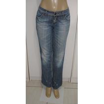 Calça Jeans Fem.marca Choper Tam. 40 S/ Strech Semi Nova