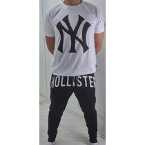 Calça De Moletom Hollister Korova New York