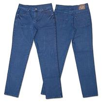 Calça Jeans Masculina Tamanho Grande Com Lycra Frete Grátis!