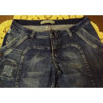 Linda Calça Em Jeans Cintura Baixa Flare Patria Brasil