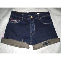 Short Jeans Marca De Refrigerante Numero 38