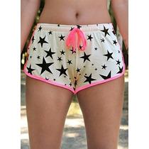 Shorts Em Viscose (bege)