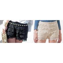 Shorts De Renda! Super Fashion! Juju Panicat