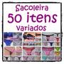 Kit Sacoleira 50 Itens Calcinha Tanga Sutiã Soutien Atacado