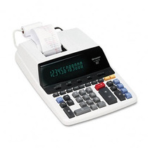 Calculadora De Mesa Sharp El-2630-piii - 220 Volts