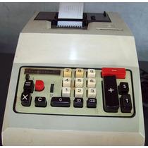 Maquina De Somar Elétrica, Antiga Olivetti Multissuma 20