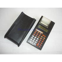 Antiga Calculadora Mesa Bobina Pq Dismac 109mp - Restauro