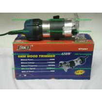 Tupia Fresa Manual 6,3mm 1/4 650 Watts - 110 V