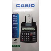 Calculadora Casio Hr100-tm 110/220v Com Nf-e 1 Ano Garantia