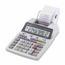 Calculadora De Mesa Com Bobina Sharp 1750v