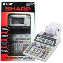 Calculadora Sharp El-1750v C/ Bobina Imprime 2 Cores 110v!!!