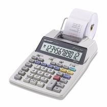 Calculadora De Mesa Sharp El-1750v C/ Bobina Imprime 2 Cores