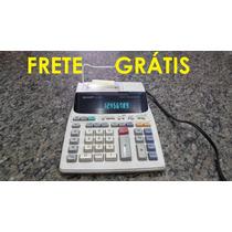 Calculadora Sharp Modelo El-1801v 110v Usada Funcionando