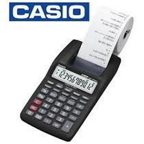 Calculadora - Casio - Hr 8tm Bk A - Impressora Portátil