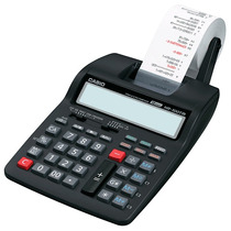 Calculadora De Mesa Compacta Com Bobina Casio Hr-150tm