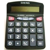 Calculadora Sheng Ka-6839a - 8 Digitos - Na Caixa