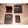 Calculadora E Agenda Eletrônica Antiga 4 Unidades P/ Coleção