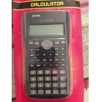 Calculadora Científica Offi 240 Funções 2 Linhas Kk-82ms