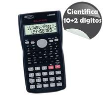 Calculadora Científica Brw 10 + 2 Digitos - Bateria - Cc5000