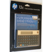 Calculadora Financeira Hp 12c Gold Português Blister S/ Juro