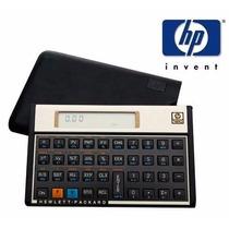 Calculadora Financeira Hp 12c Gold + Capa Manual Português