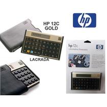 Calculadora Financeira Hp12c Gold Original Lacrada