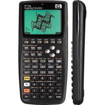 Calculadora Gráfica Hp 50g Com Manual Original Em Português