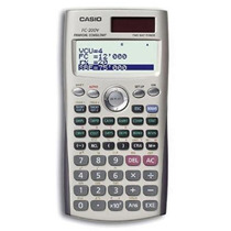 Calculadora Financeira Casio Fc-200v Novo Original