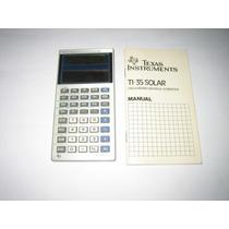 Calculadora Texas Ti-35 Solar - Funcionando - 1986