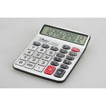 Calculadora De Mesa Teclas/display Grandes Kk-9123-12