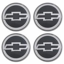 Kit Calotinha Centro De Roda Astra Sunny 55mm Emblema Gm