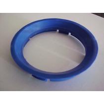 4pç Anel Chapeu Centralizador Roda Gm Azul P/ Rodas Mangenls
