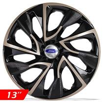 Calota Aro 13 Gold Esportiva Ds4 Ford Ka Fiesta Focus Escort