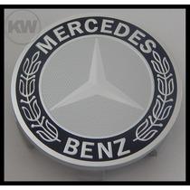 Jg Calota Tampa Centro Roda Mercedes Benz C180 7,5cm - 4 Pçs
