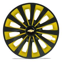 Jogo Calota Esportiva 13 Passat Cc Yellow Celta Corsa Prisma