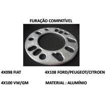 Par Espaçador Alargador Para Roda Universal 4 (6mm) Aluminio