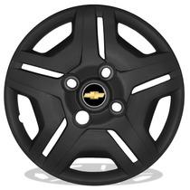 Calota Aro 13 Preto Fosco Para Gm Celta Corsa Prisma Classic